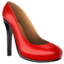 High-Heeled Shoe Emoji (Apple)