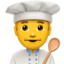 Man Cook Emoji (Apple)