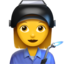 Woman Factory Worker Emoji (Apple)