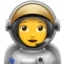 Woman Astronaut Emoji (Apple)
