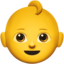 Baby Emoji (Apple)