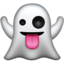 Ghost Emoji (Apple)