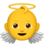Baby Angel Emoji (Apple)