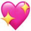 Sparkling Heart Emoji (Apple)