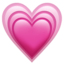 Growing Heart Emoji (Apple)