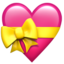 Heart With Ribbon Emoji (Apple)