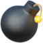 Bomb Emoji (Apple)