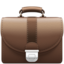 Briefcase Emoji (Apple)