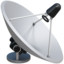 Satellite Antenna Emoji (Apple)
