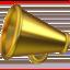 Megaphone Emoji (Apple)