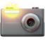 Camera With Flash Emoji (Apple)