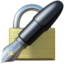 Locked With Pen Emoji (Apple)
