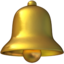 Bell Emoji (Apple)