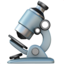 Microscope Emoji (Apple)