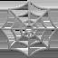 Spider Web Emoji (Apple)
