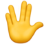 Vulcan Salute Emoji (Apple)