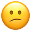 Confused Face Emoji (Apple)