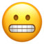 Grimacing Face Emoji (Apple)