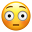 Flushed Face Emoji (Apple)