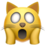 Weary Cat Face Emoji (Apple)