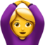 Person Gesturing Ok Emoji (Apple)