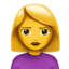 Person Pouting Emoji (Apple)