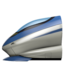 High-Speed Train Emoji (Apple)
