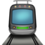 Tram Emoji (Apple)