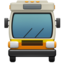 Oncoming Bus Emoji (Apple)