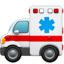 Ambulance Emoji (Apple)