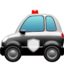 Police Car Emoji (Apple)