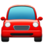 Oncoming Automobile Emoji (Apple)