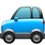 Sport Utility Vehicle Emoji (Apple)