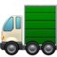 Articulated Lorry Emoji (Apple)