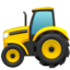 Tractor Emoji (Apple)