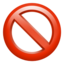 Prohibited Emoji (Apple)