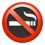 No Smoking Emoji (Apple)