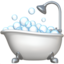 Bathtub Emoji (Apple)