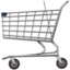Shopping Cart Emoji (Apple)