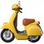 Motor Scooter Emoji (Apple)