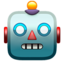 Robot Face Emoji (Apple)