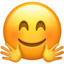 Hugging Face Emoji (Apple)