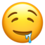 Drooling Face Emoji (Apple)