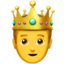 Prince Emoji (Apple)