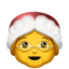 Mrs. Claus Emoji (Apple)