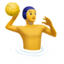 Person Playing Water Polo Emoji (Apple)