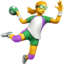 Person Playing Handball Emoji (Apple)