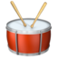 Drum Emoji (Apple)