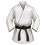 Martial Arts Uniform Emoji (Apple)