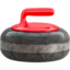 Curling Stone Emoji (Apple)